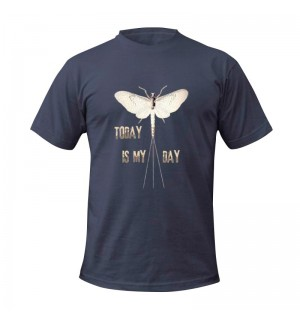TRAUN RIVER T-Shirt Today is My Day, navy