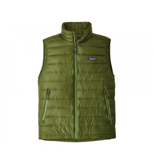 Patagonia Down Sweater Vest, sprouted green