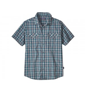 Patagonia High Moss Shirt, anchor feather grey