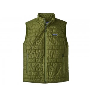 Patagonia Nano Puff Vest, sprouted green