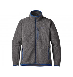 Patagonia Performance Better Sweater Fleece Jacket, forge grey / viking blue