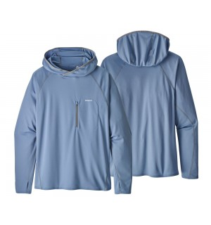 Patagonia Sunshade Technical Hoody, railroad blue