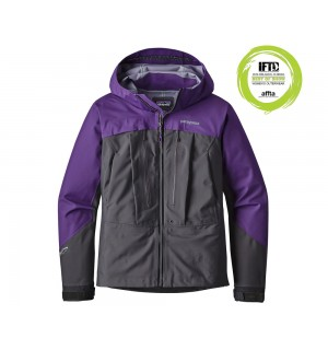 Patagonia Womens River Salt Jacket, purple