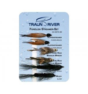 TRAUN RIVER Forellen Streamer Set