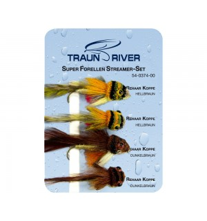 TRAUN RIVER Super Forellen Streamer Set