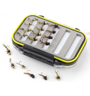 Trout Trap 18er Set mit wasserdichter Box