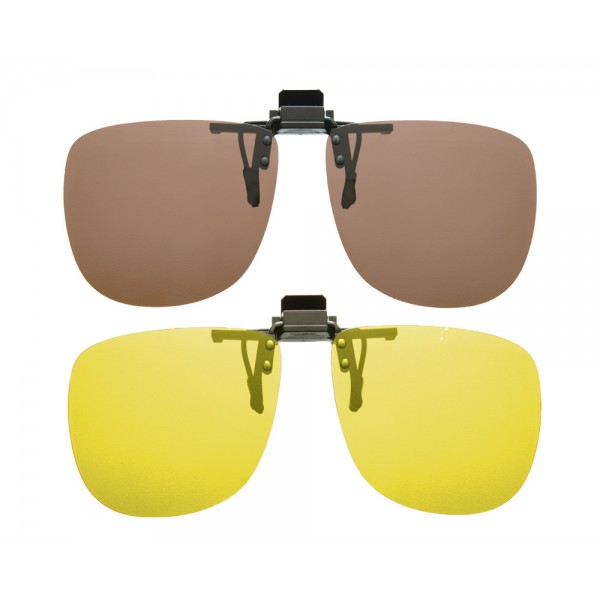 Cocoons Flip-Up Polarized Clip-On Square