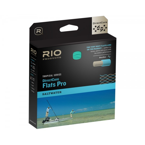 RIO DirectCore Flats Pro Floating Fly Line (Gray / Sand / Kelp)