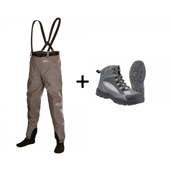 TRAUN RIVER Summer-Outfit Pro Shorty (River Grip)