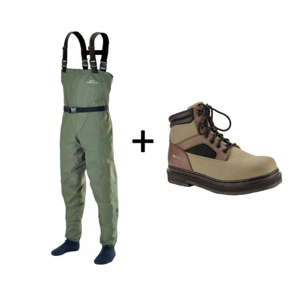 TRAUN RIVER Wading Outfit Bronze (Tremont)