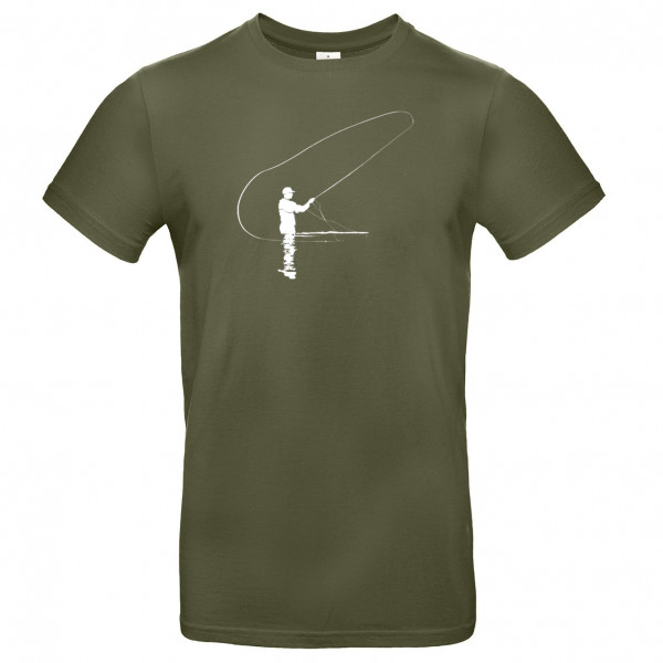 TRAUN RIVER T-Shirt Caster, olive