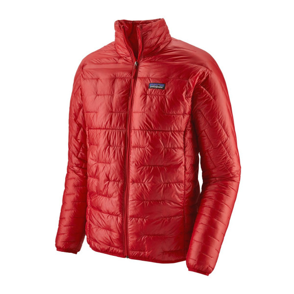 Patagonia Micro Puff Jacket, fire 1