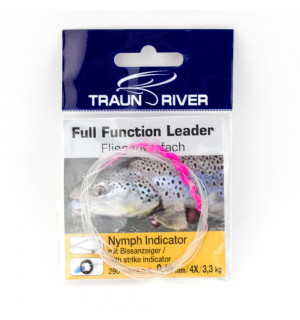 TRAUN RIVER Nymph Leader with Strike Indicator