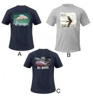 3er-Pack TRAUN RIVER T-Shirts