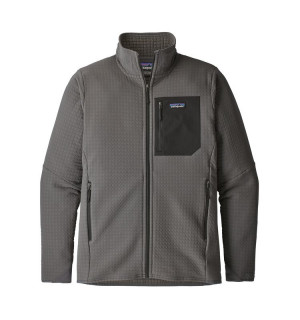 Patagonia M's R2 TechFace Jacket, forge grey