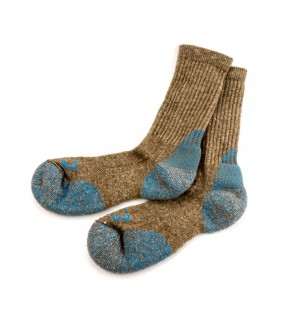 Buffalo Gold Bison Silk Crew Socks