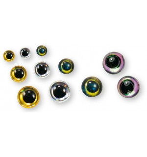 Epoxy 3D Eyes 40 pcs.