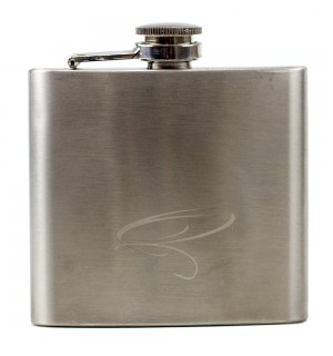 TRAUN RIVER Fly Fisherman Hip Flask