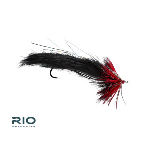 String Leech Red & Black #2 (6 pcs)