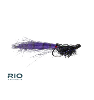 Guido Shrimp Black # 1/0 (3 pcs)