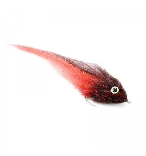 GT Big FIsh Fly Bleeding Black #8/0