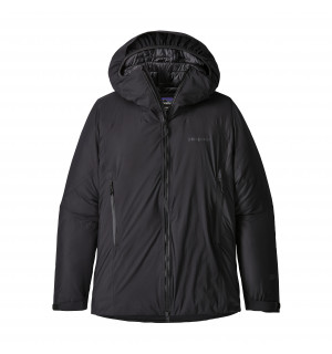 Patagonia Women's Micro Puff Storm Front Jacket. Black