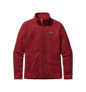 Patagonia Better Sweater Fleece Jacket, classic red