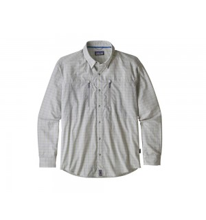 Patagonia Congo Town Pucker Shirt, kick back: tailored gray
