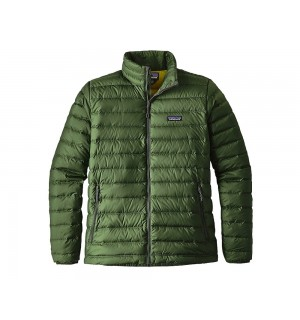Patagonia Down Sweater, glades green