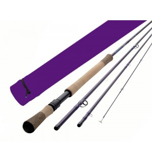 Redington DUALLY II PURPLE Switch & Spey Rods (Special Edition)