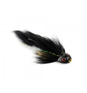 Sculpin Flex Streamer, black #4