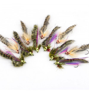 12 Springtime Trout Streamers