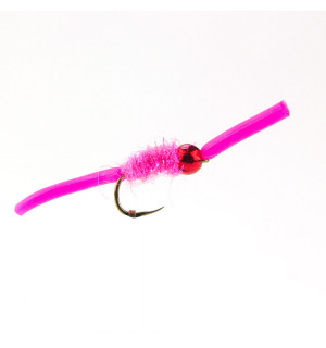 Squirmy Worm, pink