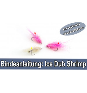 Ice Dub Shrimp Fly Tying Set