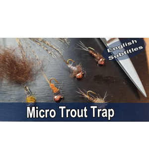 Micro Trout Trap Fly Tying Set