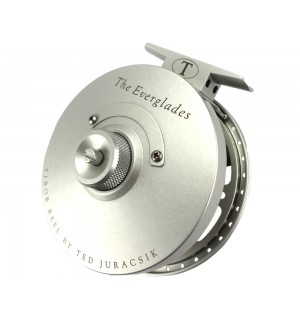 Tibor Everglades Fly Reel, silver frost