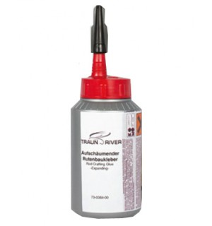 Foaming rod adhesive
