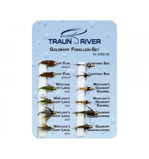 TRAUN RIVER Bead Head Trout Set