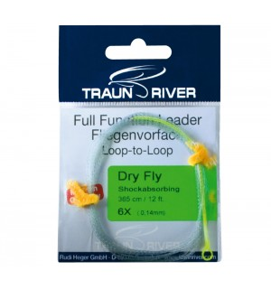 TRAUN RIVER Dry Fly Shockabsorbing Leader
