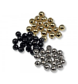 Tungsten Faceted Beads Set