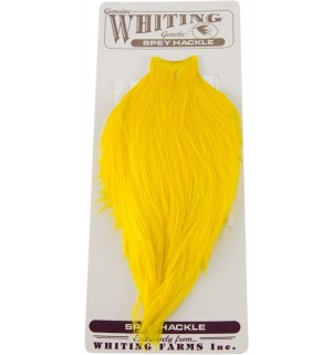Whiting Spey Hackle Rooster Silver