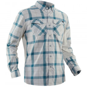 NRS Men's Long-Sleeve Guide Shirt, Hydro