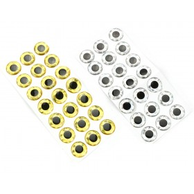 XXL 3D Eyes 15 mm 21 pcs.