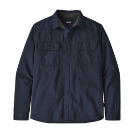 Patagonia L/S Four Canyons Twill Shirt, new navy
