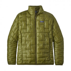 Patagonia Micro Puff Jacket, willow herb green