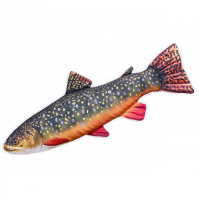 Textile Fish-Brook Trout, 62 cm