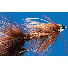 Cone Head Wooly Bugger, brown