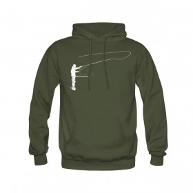 TRAUN RIVER Hoody Flyfisher olive