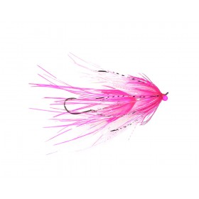 Intruder, fuchsia/white