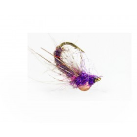 Magic Drop Nymph, brown/purple (6 pcs)
